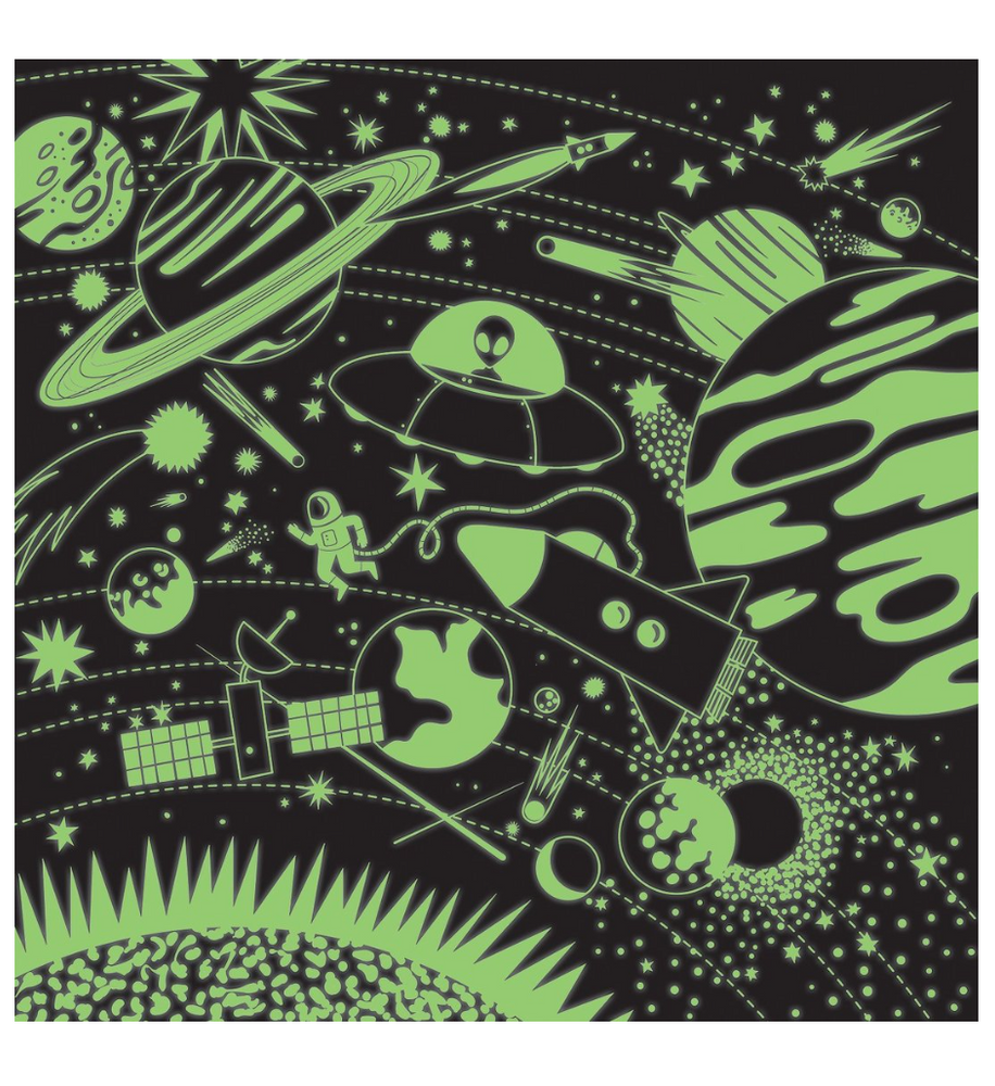 SPACE ILLUMINATED 500 PIECE GLOW IN THE DARK PUZZLE