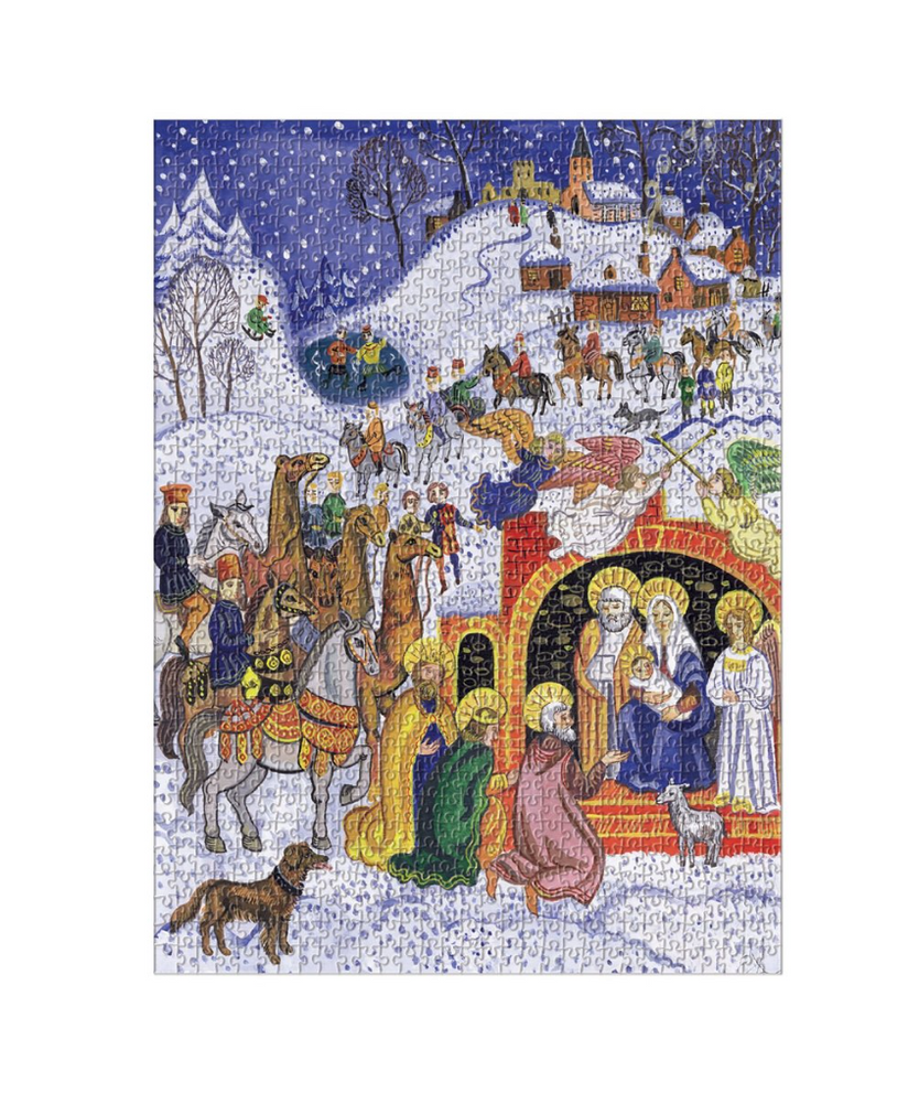 JOY TO THE WORLD SQUARE BOXED 1000 PIECE PUZZLE