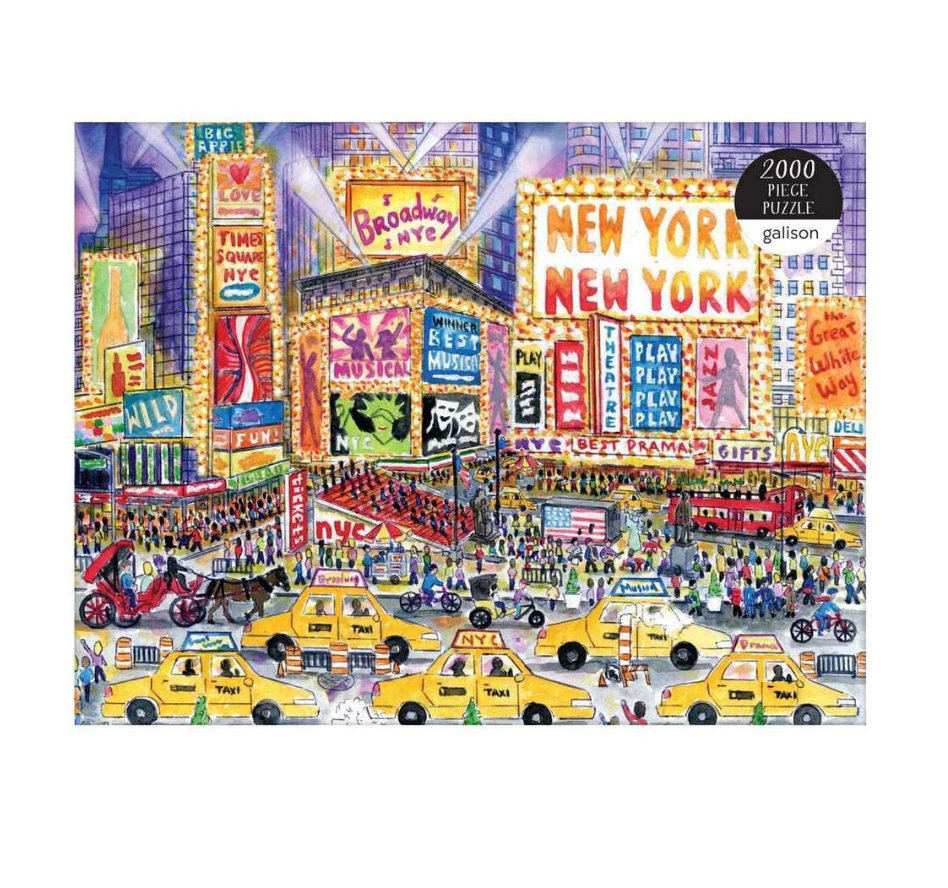 MICHAEL STORRINGS THE GREAT WHITE WAY 2000 PIECE PUZZLE