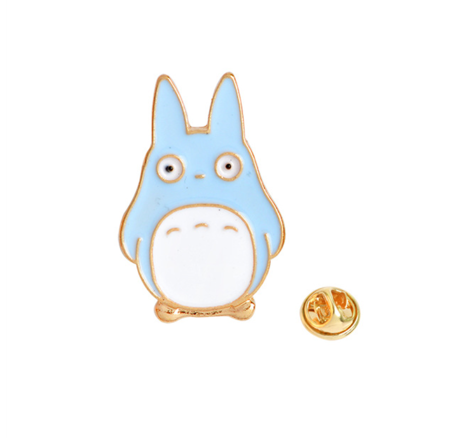 My Neighbor Comic Totoro Enamel Pins