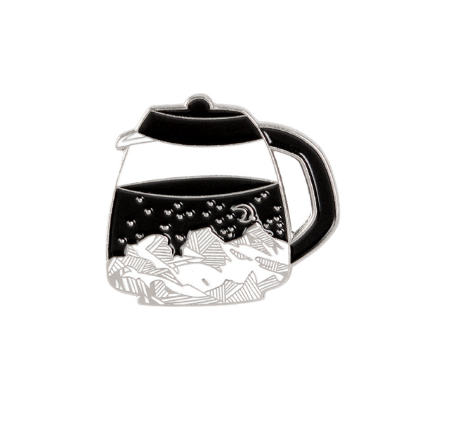 Coffee Pot Enamel Pin