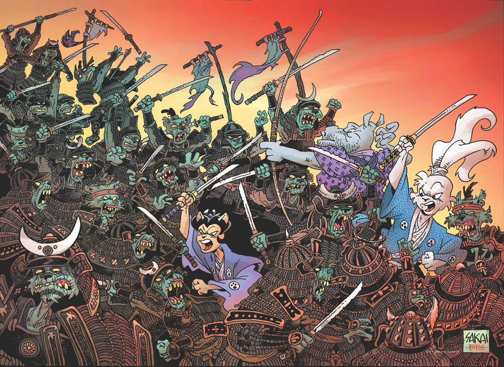 Usagi Yojimbo: Traitors of the Earth Premium Puzzle (1000-pc)