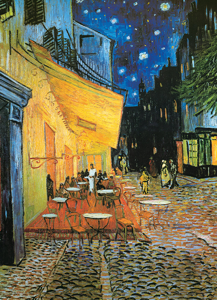 Café Terrace at Night by Vincent van Gogh 1000-Piece Puzzle