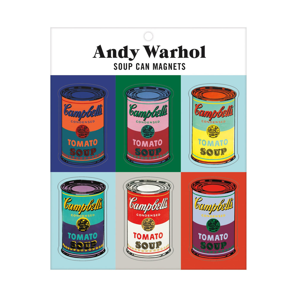 ANDY WARHOL SOUP CAN MAGNETS