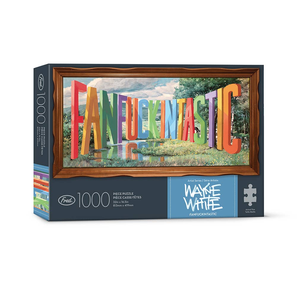 Puzzle 1000 Pc - Wayne White - Fanfuckintastic