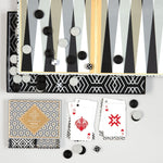 DAVID HICKS BACKGAMMON SET