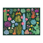 The Desert Flora 1000 Piece Puzzle with Shaped Pieces