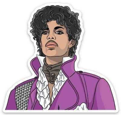 Prince Jacket Die Cut Sticker