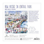 MICHAEL STORRINGS BOW BRIDGE IN CENTRAL PARK 500 PIECE PUZZLE