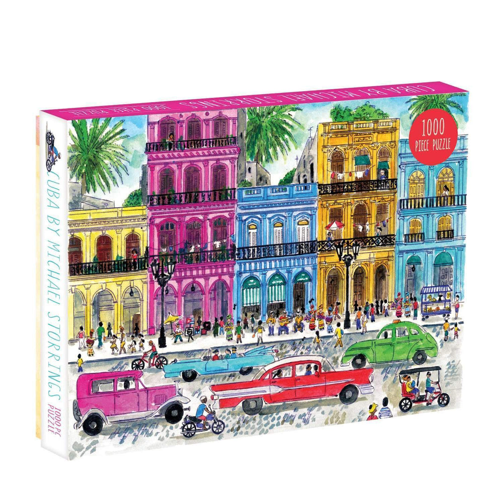 MICHAEL STORRINGS CUBA 1000 PIECE PUZZLE