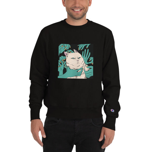 HENBUHAO Unisex Champion Sweatshirt-King