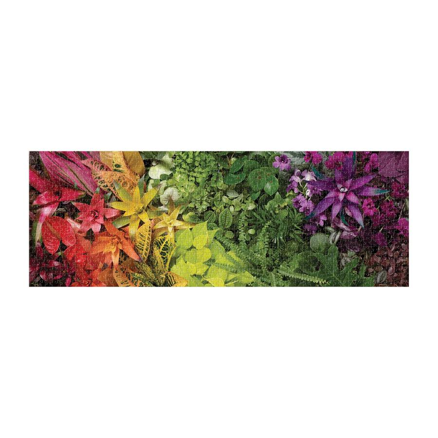 Plant Life 1000 Piece Panoramic Jigsaw Puzzle
