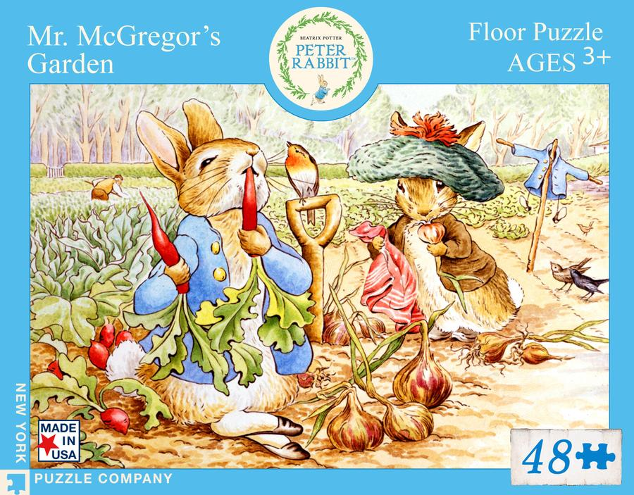 Mr McGregor's Garden 48 Piece Puzzle