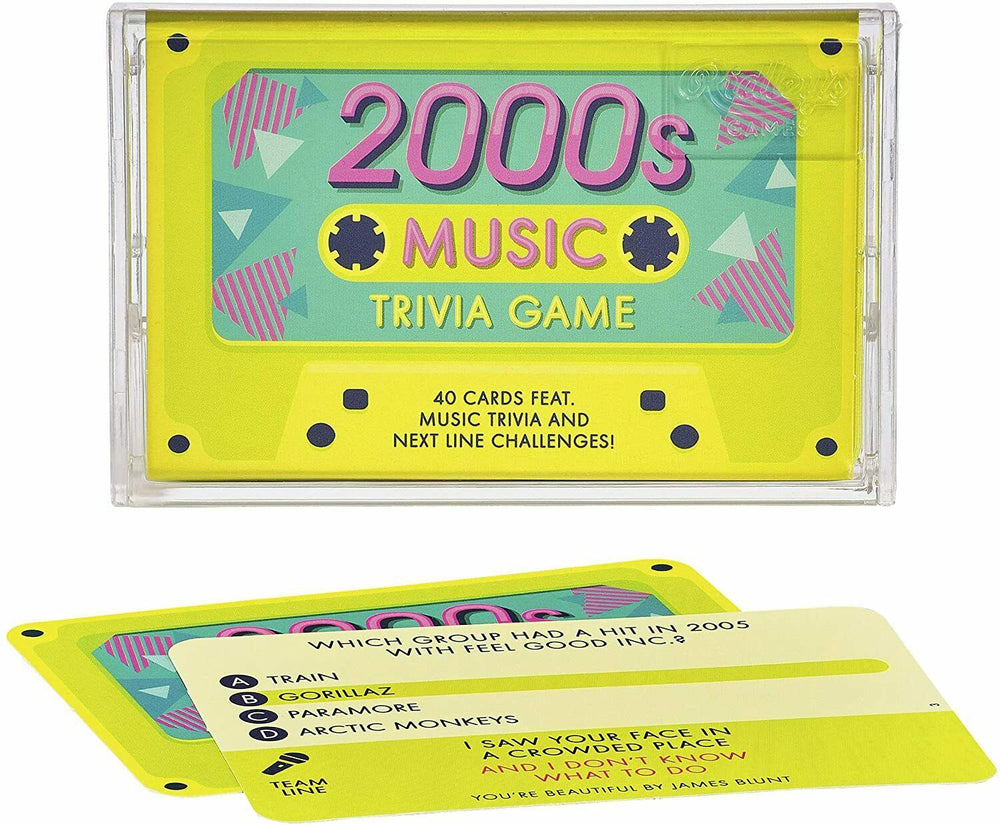 2000s Music Trivia Game - Board Game [Ridley's Social Party Retro Cards] NEW