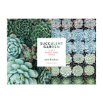SUCCULENT GARDEN 2-SIDED 500 PIECE PUZZLE