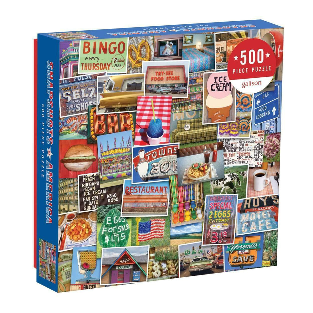 TROY LITTEN SNAPSHOTS OF AMERICA 500 PIECE PUZZLE