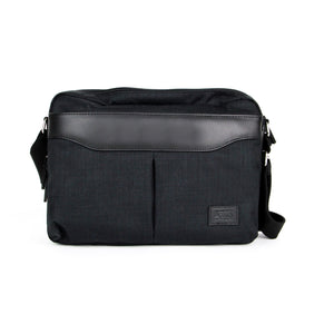 Shoulder Bag - CCQ Triple Compartment Messenger Bag | FX Creation Singapore