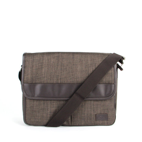 Shoulder Bag - CCQ Front Flap Messenger Bag | FX Creation Singapore