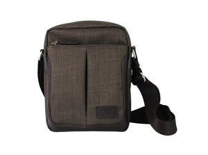 Shoulder Bag - CCQ Double Compartment Messenger Bag | FX Creation Singapore