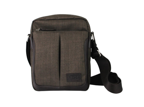 Shoulder Bag - FX Creations CCQ Double Compartment Messenger Bag | FX Creations Singapore