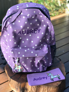 Girls Back Pack Set