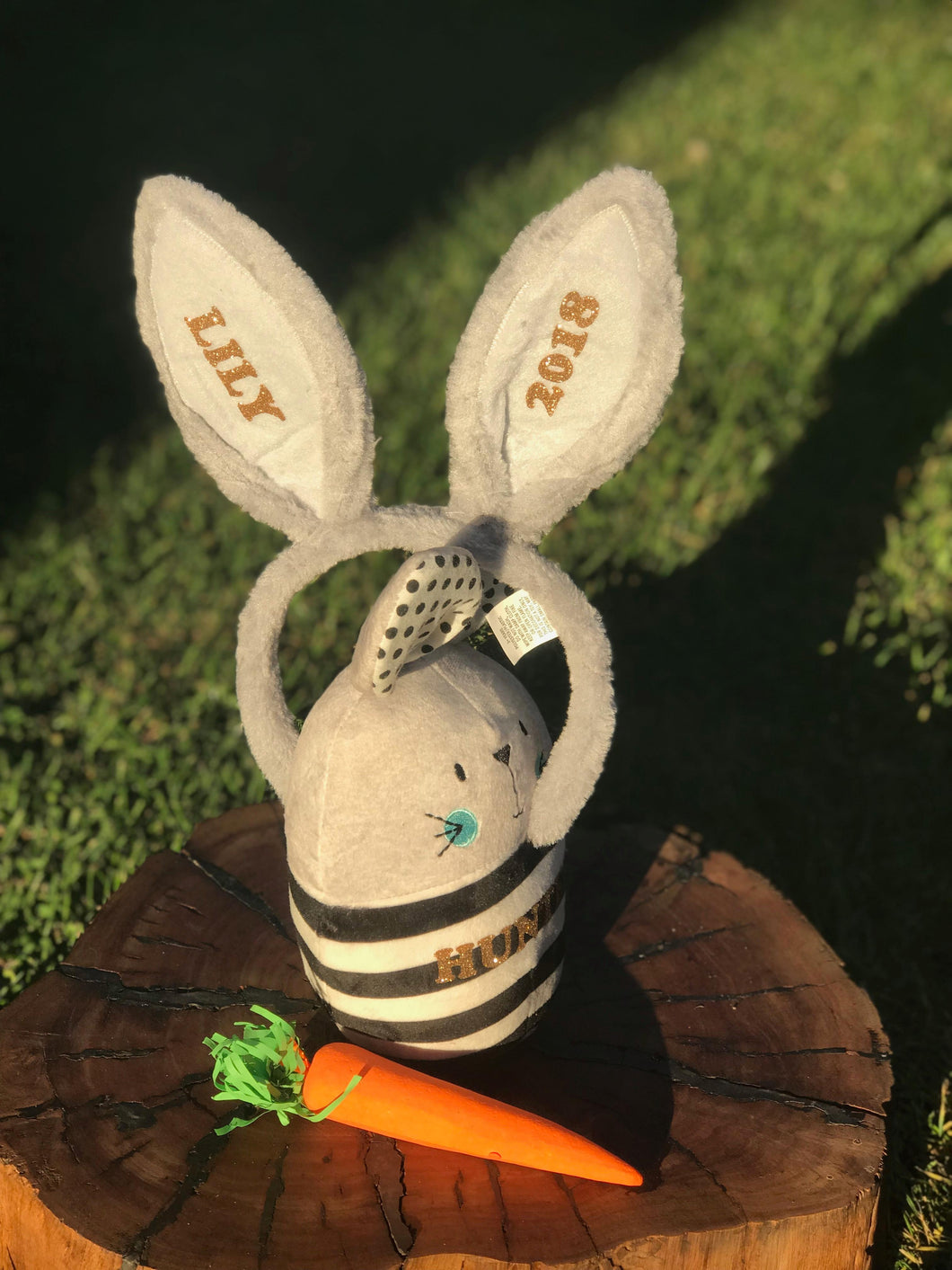 Easter Bunny Ears Grey EASTER ORDERS CLOSED