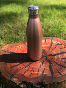 Hot and cold drink bottle in ROSE GOLD