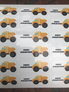 Custom Truck Stickers Set of 18