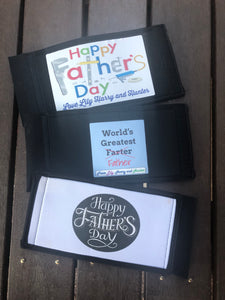 "ORDERS CLOSED ""Father's Day"" Stubby Holder"