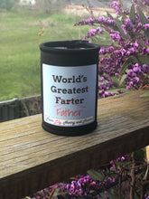 "ORDERS CLOSED ""World's best ""Farter/Father"" Stubby Holder"