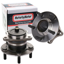Load image into Gallery viewer, Rear Wheel Bearing Fit 2009-2013 Mazda 6 Wheel Hub with 5 Lugs-w/ABS, 512409 (2 Pack)