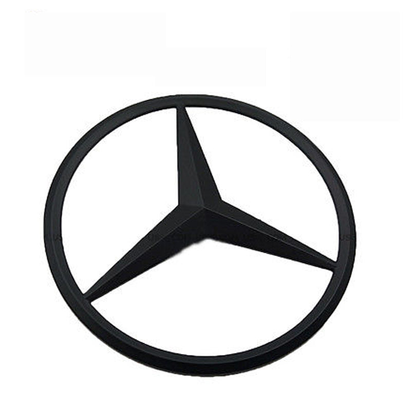 Genuine Black Benz Star Logo Trunk Rear Emblem W205 Badges Modified Decoration
