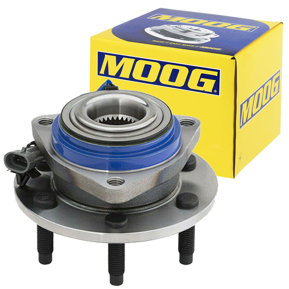 MOOG 513236 Front Left Or Right Wheel Bearing and Hub Assembly W/ABS
