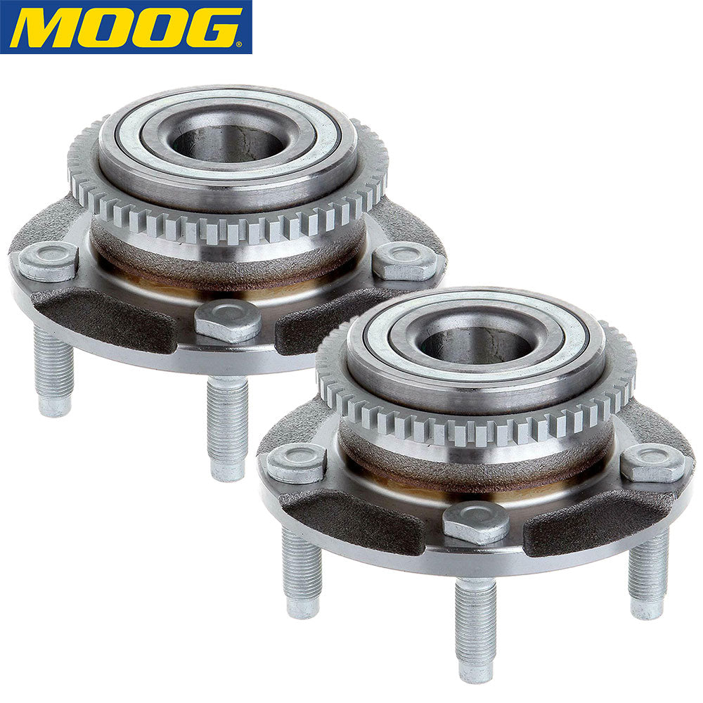 MOOG 513115 Front Wheel Bearing and Hub Assembly (2 PACK)