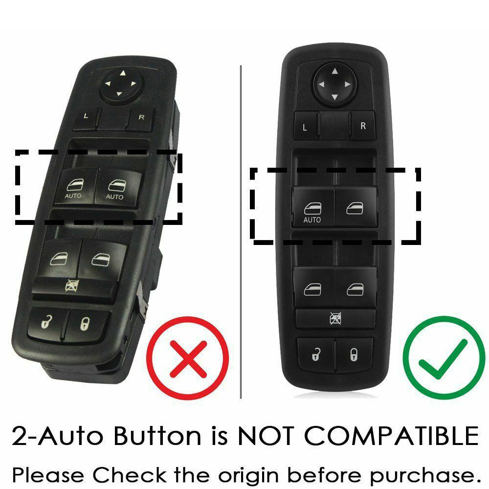Master Power Window Switch for Jeep Dodge Journey Liberty 2008-2012 Fornt Left Driver Side