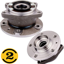 Load image into Gallery viewer, Rear Wheel Bearing Fit Volvo XC90 2003-2014 Wheel Hub, w/5 Lugs 4WD, 512273 (2 PACK)