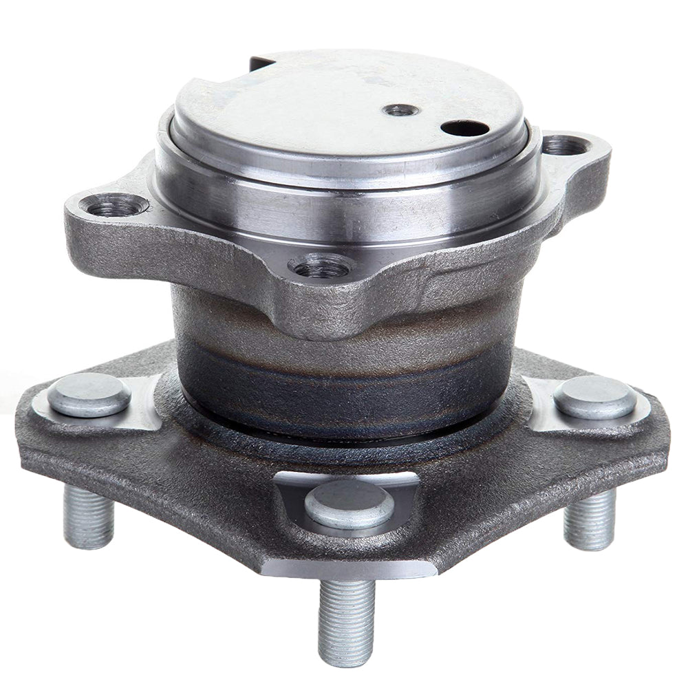 Rear Wheel Bearing Fit 2007-2012 Nissan Sentra Wheel Hub w/ABS, 4 Lugs, 512384