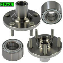 Load image into Gallery viewer, Wheel Bearing Fit Lexus RX350 RX450H 2010-2015, Toyota Highlander 2008-2013 Wheel Hub w/5 Lugs, 930-400, 510100 (2 Pack)