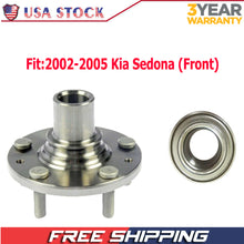 Load image into Gallery viewer, Front Wheel Bearing  Fit 2002-2005 Kia Sedona Wheel Hub with 5 Lugs,  930 650 513058