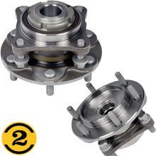 Load image into Gallery viewer, Front Wheel Bearing Fit Toyota 4Runner 2003-2019, FJ Cruiser 2007-2009, Hilux 2015-2017,Tacoma 2015-2019 Wheel Hub w/6 Lugs, RWD, 950-004 (2 Pack)