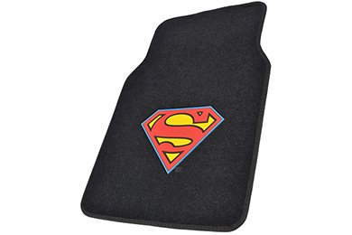BDK Superman Floor Mats - Superman Logo Car Mats