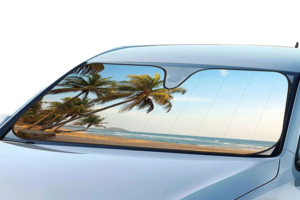 ProZ Beach Windshield Sun Shade - Beach Car Window Shade