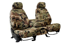 Load image into Gallery viewer, CalTrend Retro Camo Canvas Seat Covers - Old School Camouflage Seat Cover by CalTrend