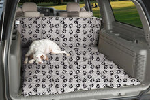 Load image into Gallery viewer, Canine Covers Crypton Paw Print Cargo Liner Dog Bed - Crypton Heavy Duty Cargo Dog Bed w/ Paw Prints