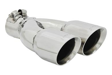 Flowmaster Dual Exhaust Tips - Round Angle Cut Exhaust Tips by Flowmaster - Lowest Price