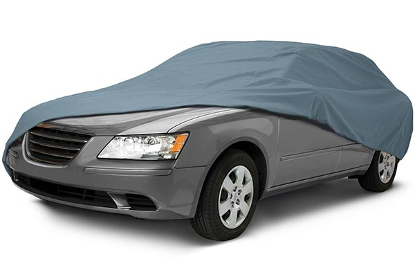 Classic Accessories PolyPro Car Cover - Waterproof Outdoor Car Cover by Overdrive Covers