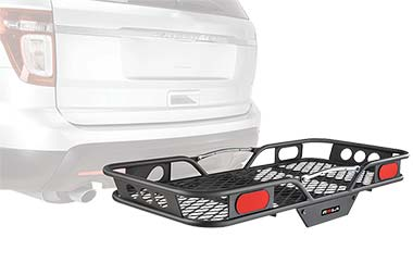 ROLA Hitch Mounted Cargo Carrier - 2 Piece Collapsable Hitch Cargo Carrier by Rola Racks