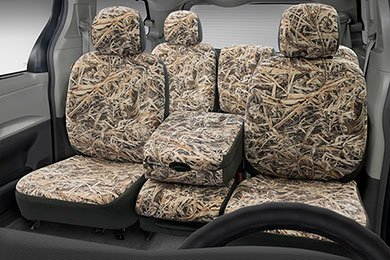 Seat Designs Cowboy Camo Heavy Duty Seat Covers - Rugged Yet Comfortable