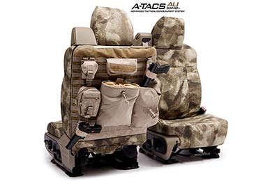 SKANDA A-TACS Tactical Camo Canvas Seat Covers by Coverking!