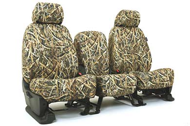 SKANDA Mossy Oak Camo Neosupreme Seat Covers By Coverking - Neoprene Seat Covers | AutoAnything